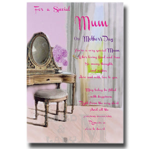 23cm - For A Special Mum On Mother's Day - GH