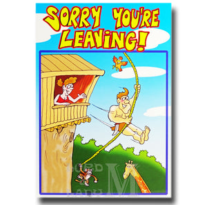 23cm - Sorry You're Leaving - Cartoon - GH