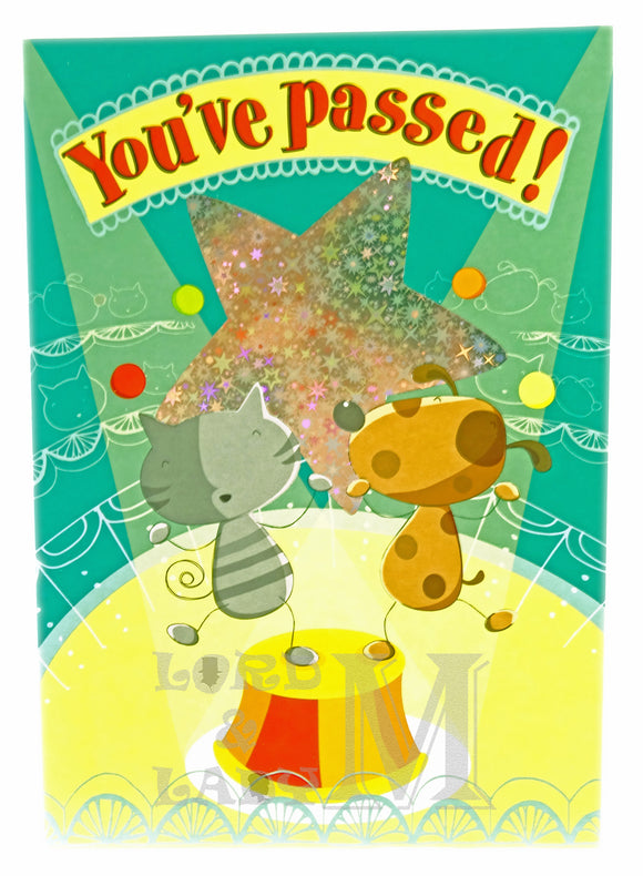 20cm - You've Passed - Cat & Dog - CWH