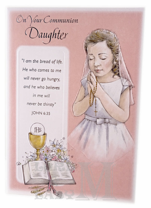 19cm - On Your Communion Daughter - GH