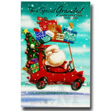 23cm - For A Special Grandad - Santa In Car - E