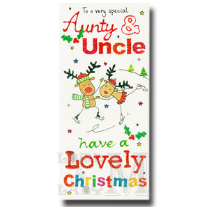 22cm - To A Very Special Aunty & Uncle Have A - OH
