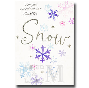 20cm - For You At Christmas, Cousin Snow - E
