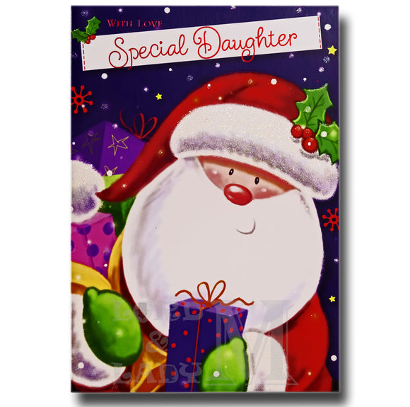19cm - With Love Special Daughter - Gifts Santa -E