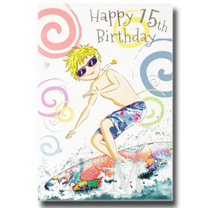 19cm - Happy 15th Birthday - Surfboard - DGC