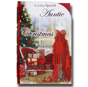 23cm - To A Very Special Auntie At Christmas - BGC