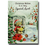 19cm - Christmas Wishes To A Very Special Aunt -BG