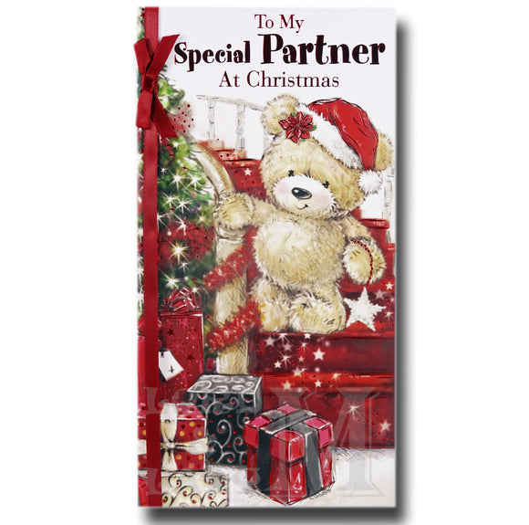 23cm - To My Special Partner At Christmas - BGC