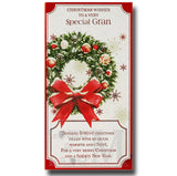 23cm - Christmas Wishes To A Very Special Gran -BG