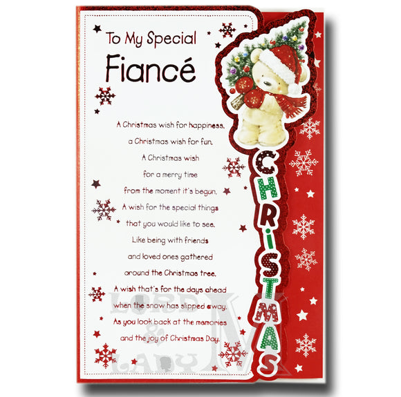 23cm - To My Special Fiance A Christmas Wish - BGC