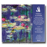 Monet Weekly Planner Organiser - Sticky Notes Memo Pad Weekly Notepad