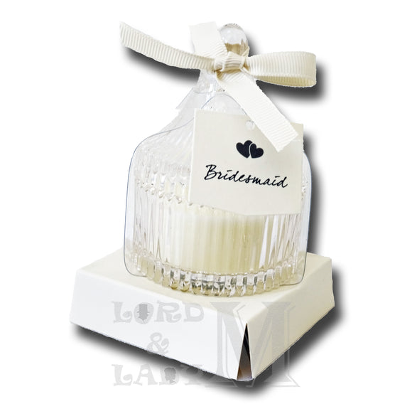 Bridesmaid Jasmine Scented Candle
