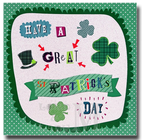 15cm - Have A Great St Patrick's Day - DV