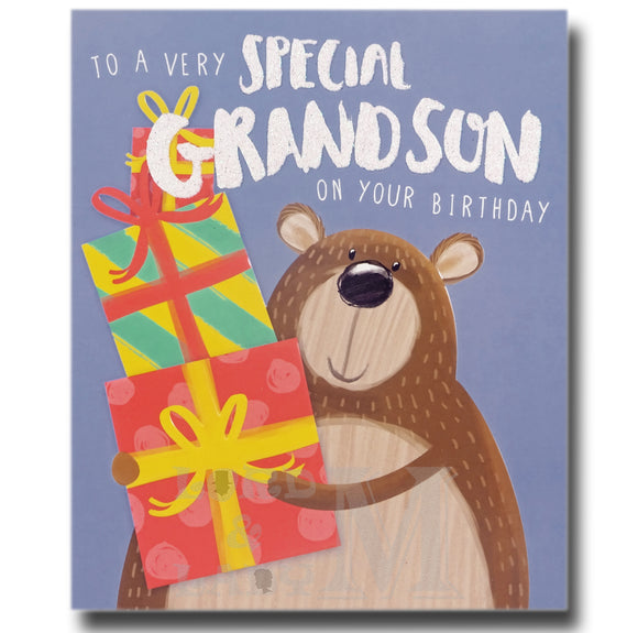 18cm - To A Very Special Grandson On Your ...- ASD