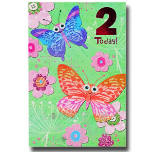 20cm - 2 Today! - 2 Butterflies - E