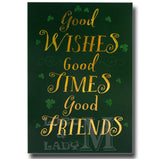 20cm - Good Wishes Good Times Good Friends - BGC