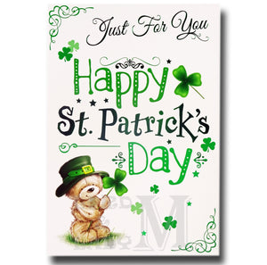 19cm - Just For You Happy St. Patrick's Day - BGC