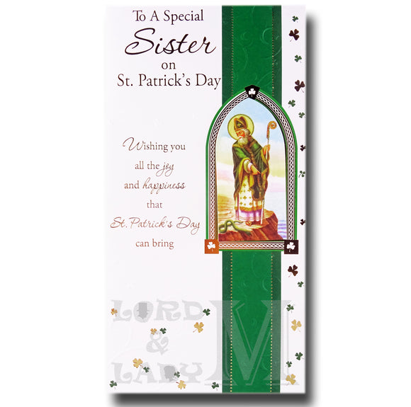 23cm - To A Special Sister On St. Patrick's - BGC