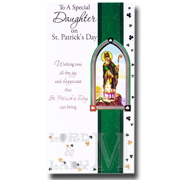 23cm - To A Special Daughter On St Patrick's - BGC
