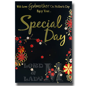 19cm - With Love Godmother On Mother's Day - BGC