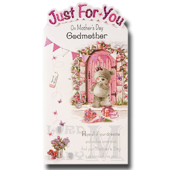 23cm - Just For You On Mother's Day Godmother -BGC