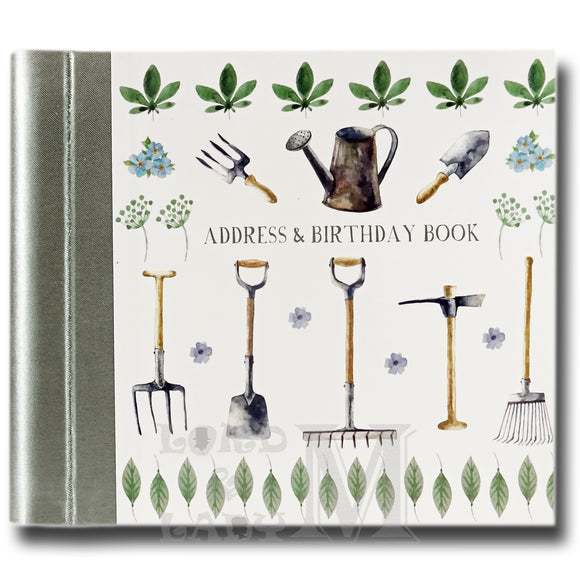 My Garden Hardback Address And Birthday Book - Gardening - Perfect Gift Idea