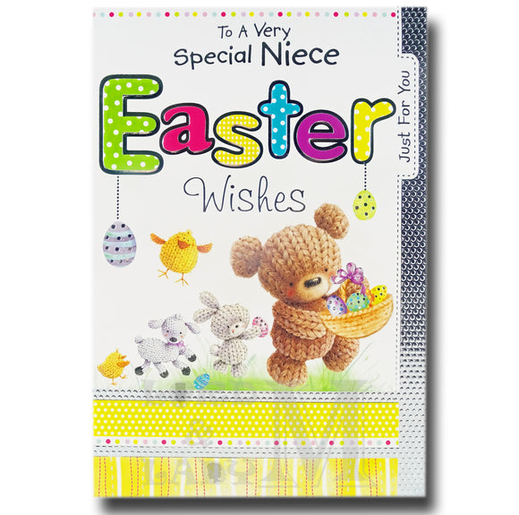 19cm - To A Very Special Niece Easter Wishes - BGC