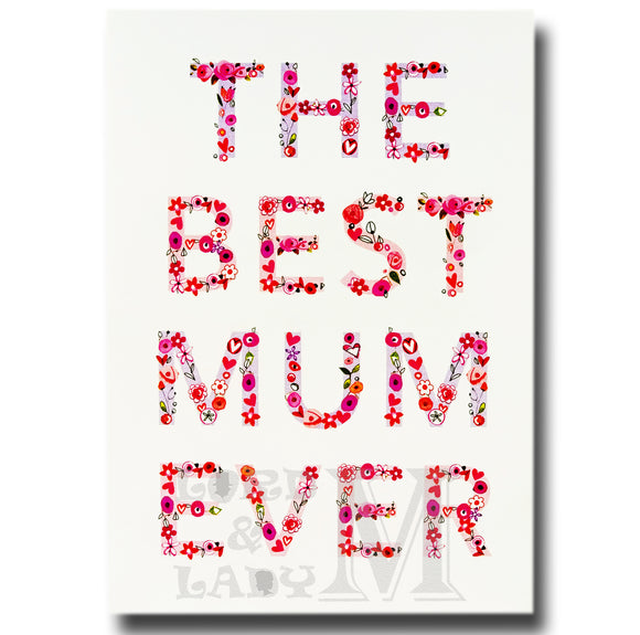 20cm - The Best Mum Ever - E