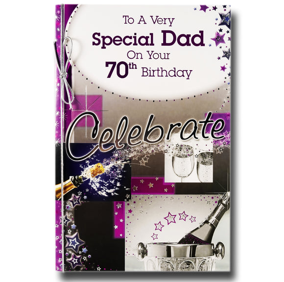 23cm - To A Very Special Dad On Your 70th .. - BGC