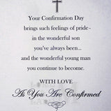 23cm - For A Wonderful Son On Your Confirmation -E