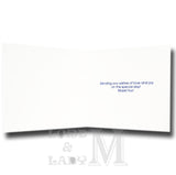 15cm - .. On Your Granddaughter's - White Card -DV