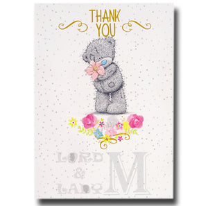 17cm - Thank You - Me To You Tatty Teddy - RV