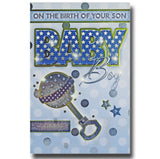 23cm - On The Birth Of Your Son Baby Boy - CWH