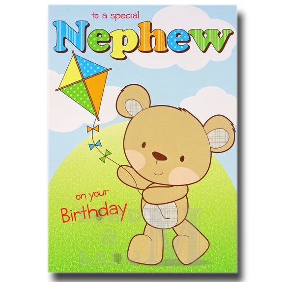 20cm - To A Special Nephew On Your Birthday - RV