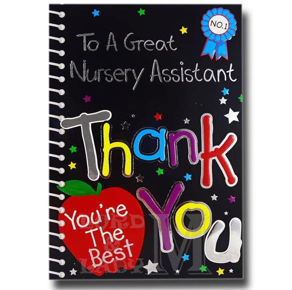 19cm - To A Great Nursery Assistant Thank You -BGC