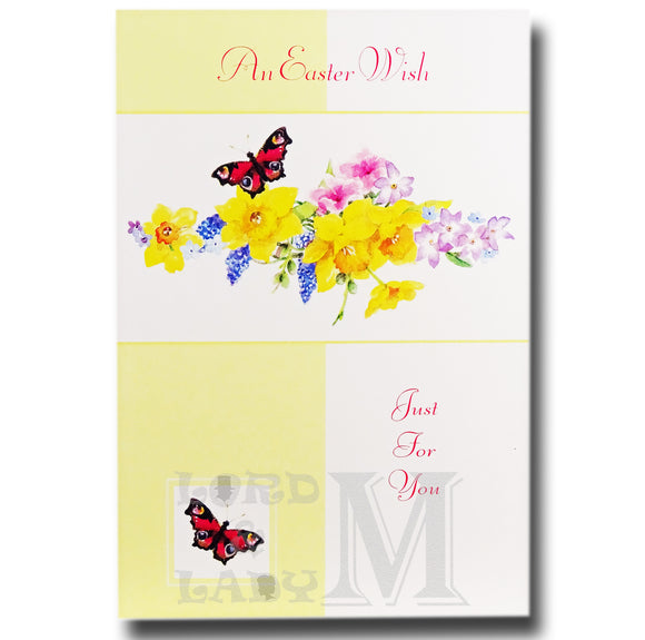 15cm - An Easter Wish Just For You - Butterfly - E