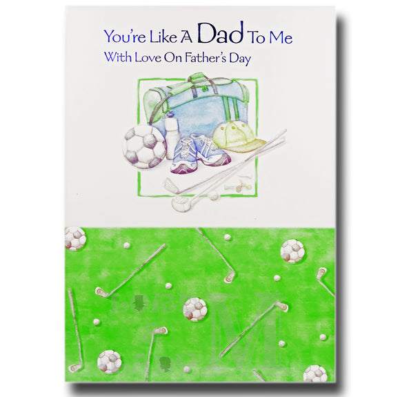 20cm - You're Like A Dad - Football Golf - DGC