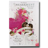 23cm - On Your Engagement With Best Wishes - CWH