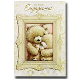 20cm - On Your Engagement - Bears In Frame - CWH