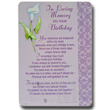 15cm - In Loving Memory On Your Birthday - DGC