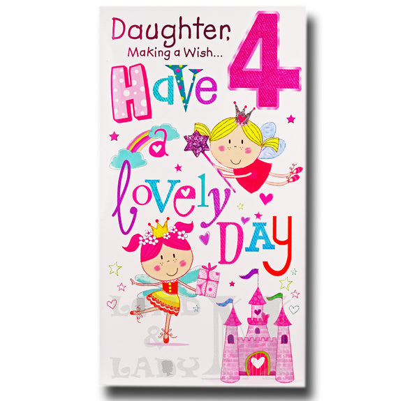 23cm - Daughter, Making A Wish ... 4 - GH