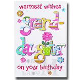 23cm - Warmest Wishes Grand-daughter On ... - CWH