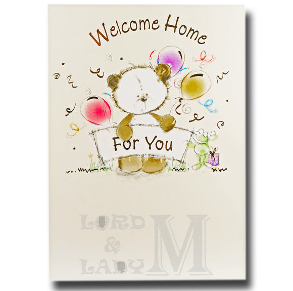 19cm - Welcome Home For You - Cute Panda - DGC
