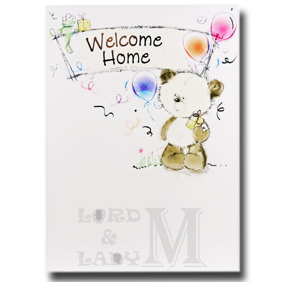 19cm - Welcome Home - Cute Panda - DGC
