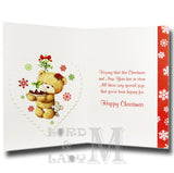 19cm - Happy Christmas Godmother - Pudding - DGC