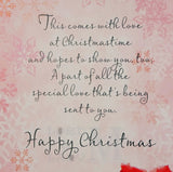 23cm - With Love, Mother At Christmas - E