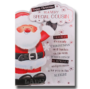 19cm - ... Christmas To A Very Special Cousin -BGC
