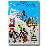 19cm - ... Great-Grandad Christmas Wishes - BGC