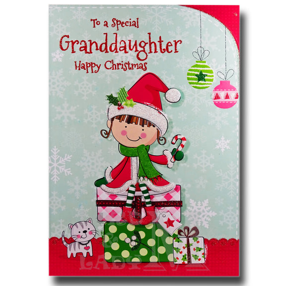 19cm - To A Special Granddaughter - Girl Gifts -DG