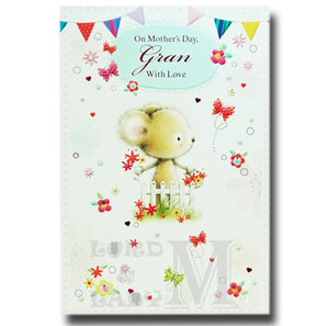 20cm - On Mother's Day, Gran With Love - GH